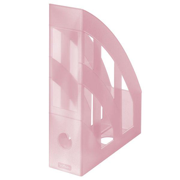 Álló irattartó Classic A4 Pastel rózsaszín