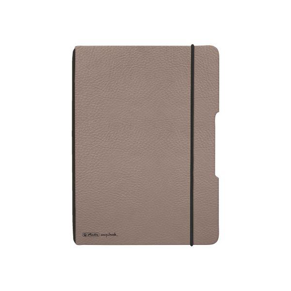 my.book flex füzet A5 bőrhatású barna, 80g/m2