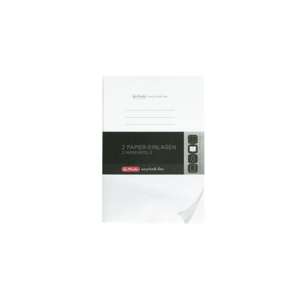 my.book flex betét A5/2x40 lap kockás