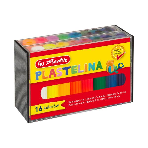 Plastelina, 16 kolorów