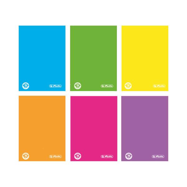Brulion A4, 96 kartek Color Blocking