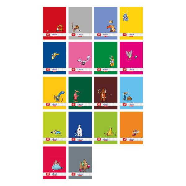 Brulion A5, 96 kartek Comic