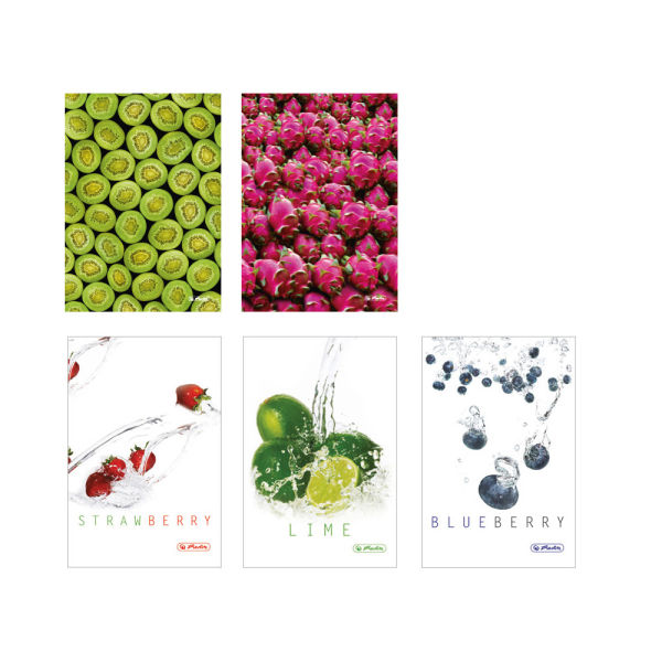 Brulion A5, 96 kartek Fresh Fruit