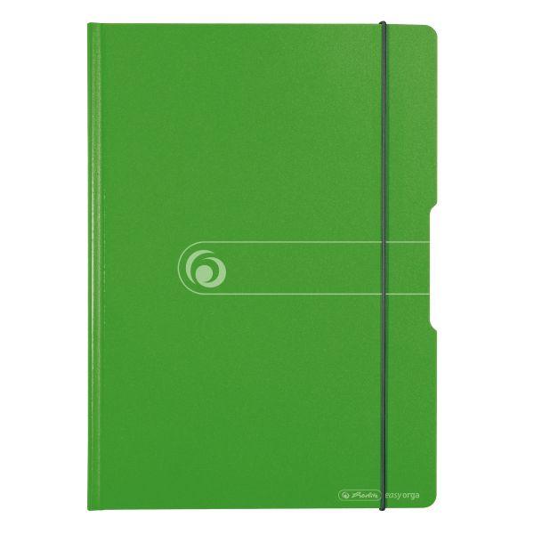 Clipboard dublu A4 Easy Orga to Go PP verde