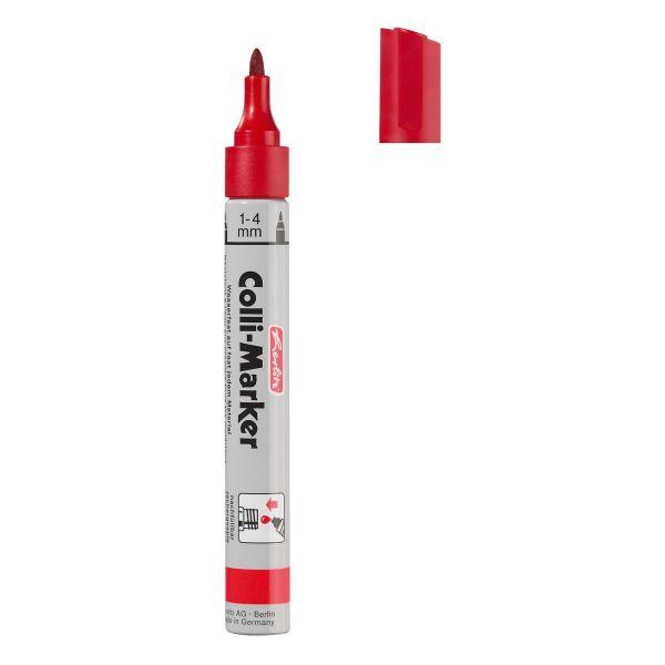 Marker Colli 1-4 mm roșu 10buc