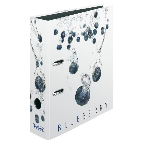 папка-скоросшиватель maX.file А4 5 см, Fresh Fruit Blueberry