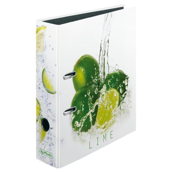 папка-скоросшиватель maX.file А4 5 см, Fresh Fruit Lime