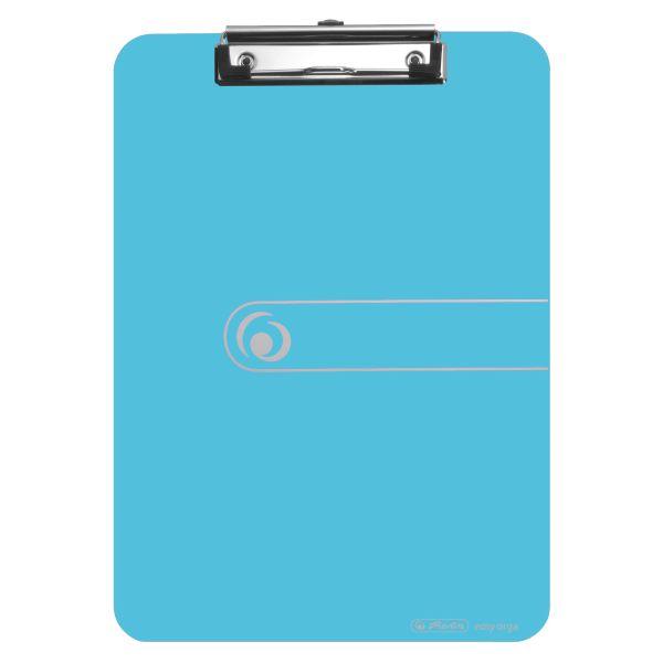 планшет полистирол А4 прозрачный синий