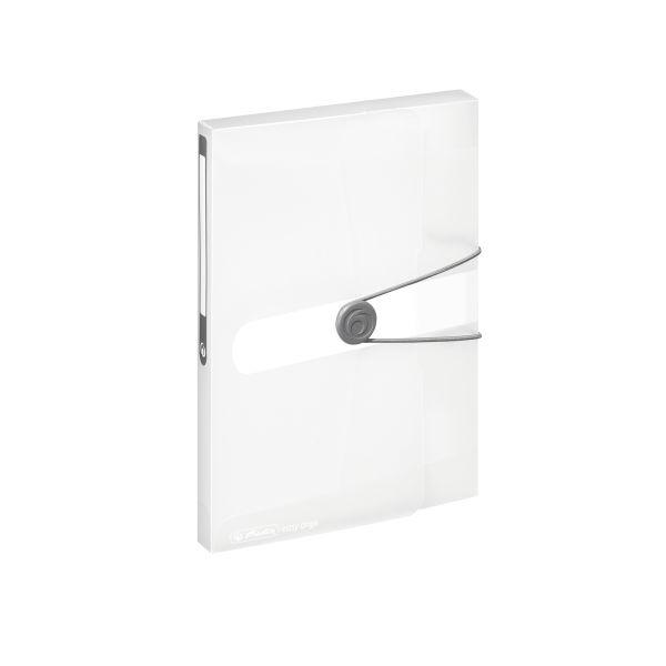 папка для документов А5 РР бесцветная прозрачная