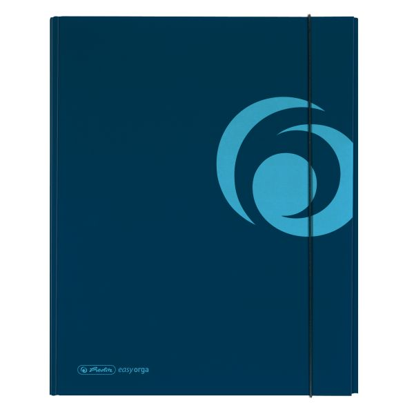 коробка для документов А4 XL, strong синяя