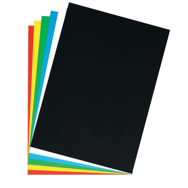 Картон плакатный 46х68 см, ярко-белый