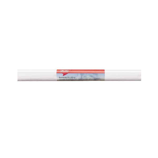 Бумага поделочная креп 50х250 см, белая