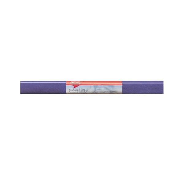 Бумага поделочная креп 50х250 см, сиреневая