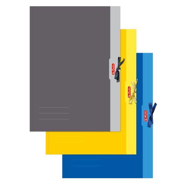 Папка с резинкой А2, разные цвета