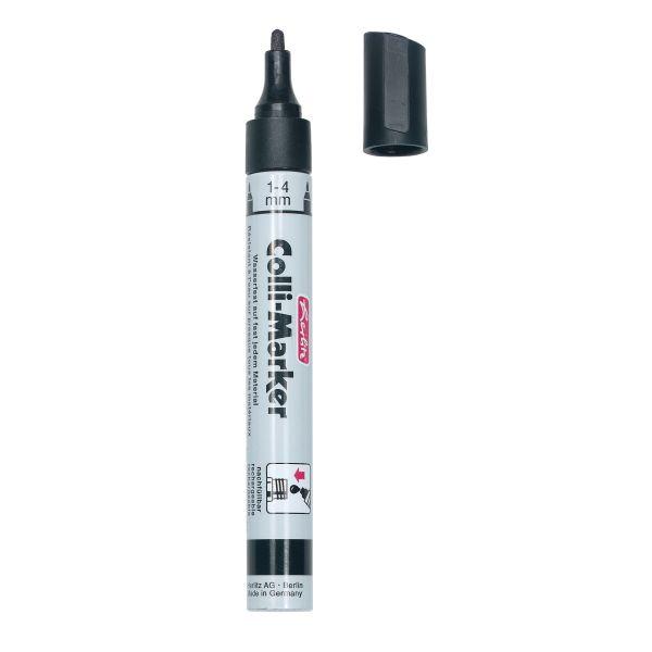 маркер Colli 1-4 мм,черный, без упаковки