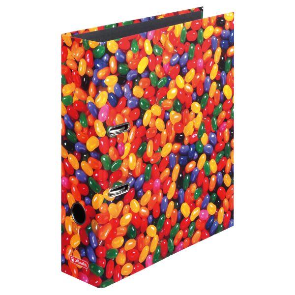 папка-скоросшиватель maX.file, А4 8 см, Jelly Beans
