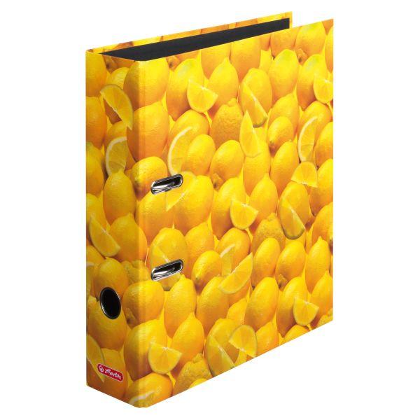 папка-скоросшиватель maX.file, А4 8 см, Lemon