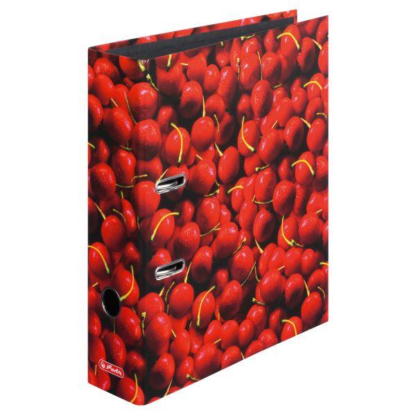 папка-скоросшиватель maX.file, А4 8 см, Cherrys