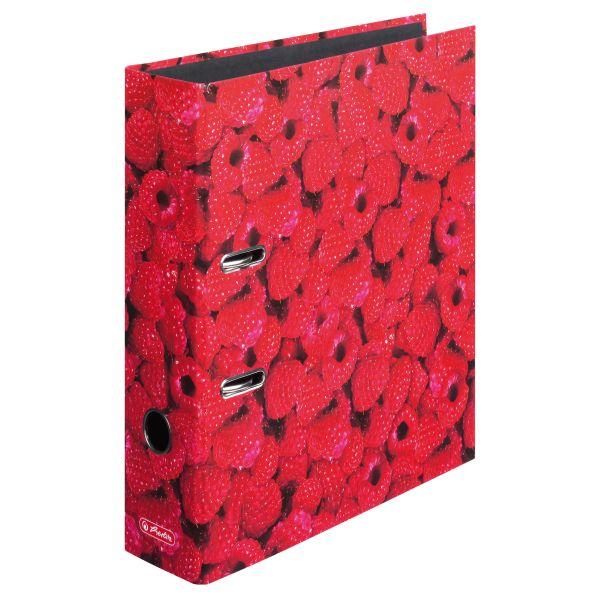 папка-скоросшиватель maX.file, А4 8 см, Raspberrys