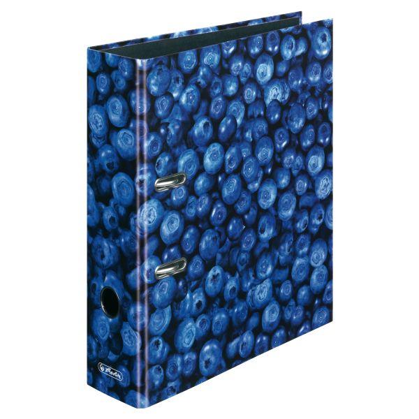 папка-скоросшиватель maX.file А4 8 см, Blueberry