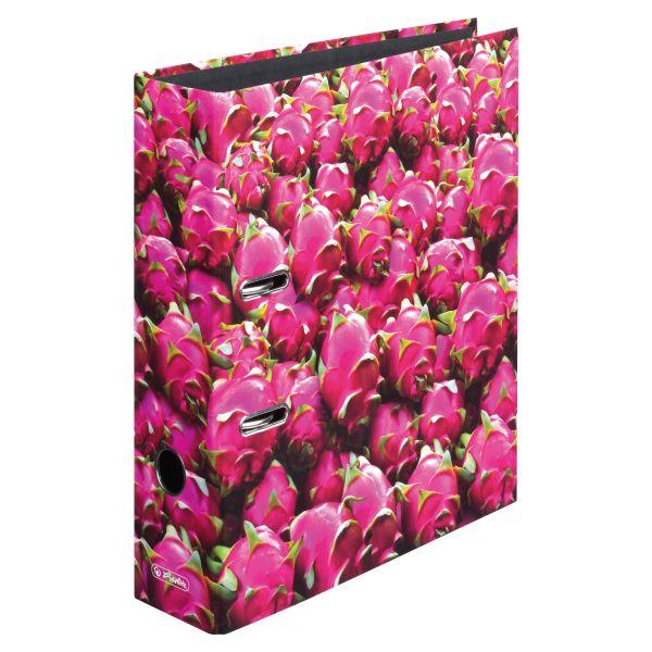 папка-скоросшиватель maX.file А4 8 см, Dragon Fruit