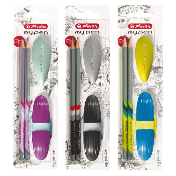 набор для начинающих my.pen, разные цвета, в блистерной упаковке