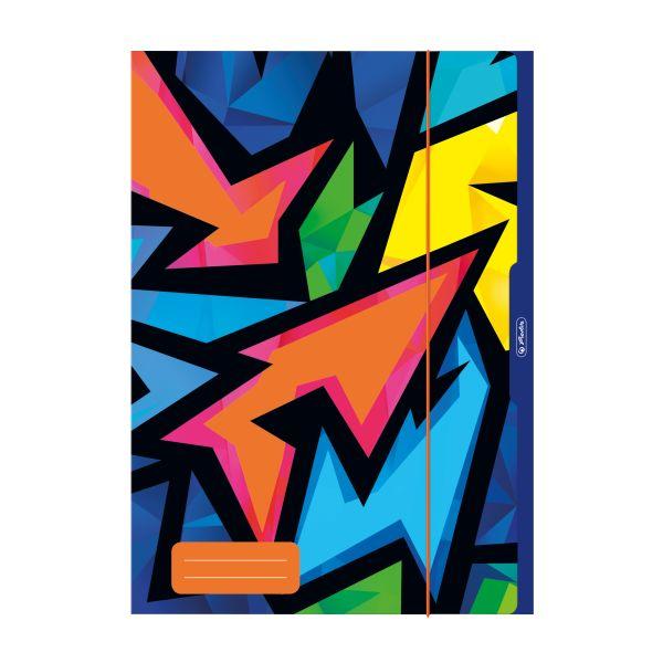 файл для хранения рисунков А3, Neon Art разных узора