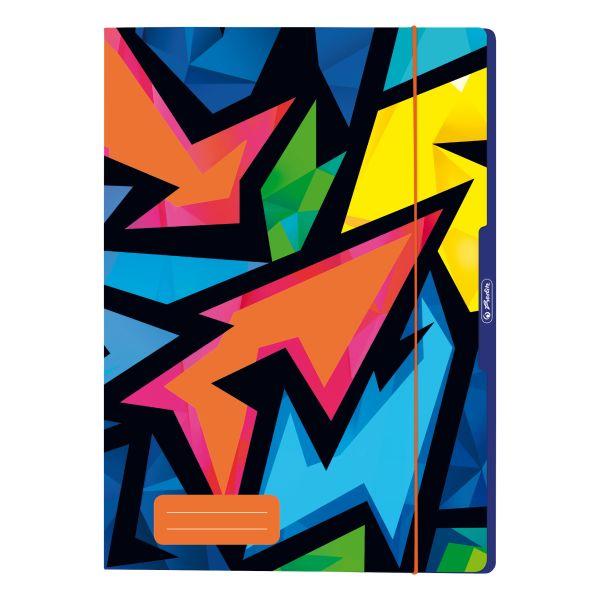 файл для хранения рисунков А4, Neon Art 2 разных узора