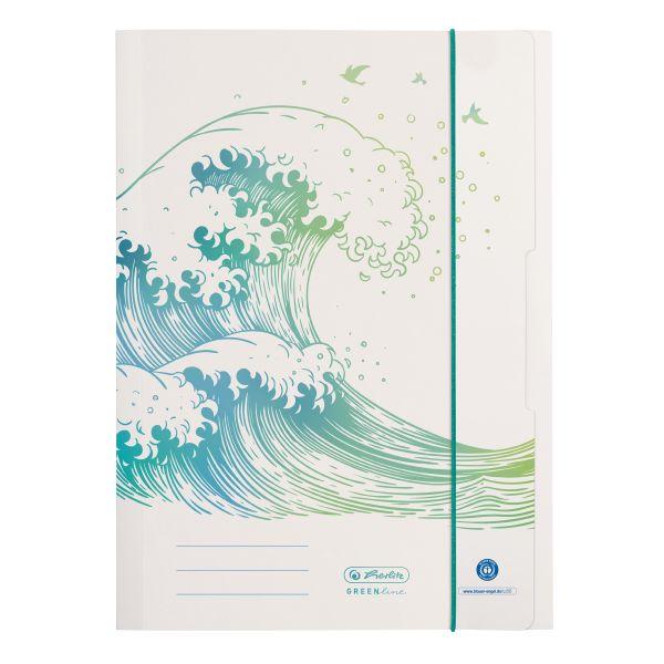 папка для рисования A4 орнамент GREENline Wave