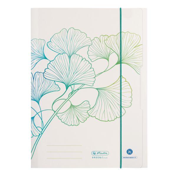 папка для рисования A4 орнамент GREENline Ginkgo