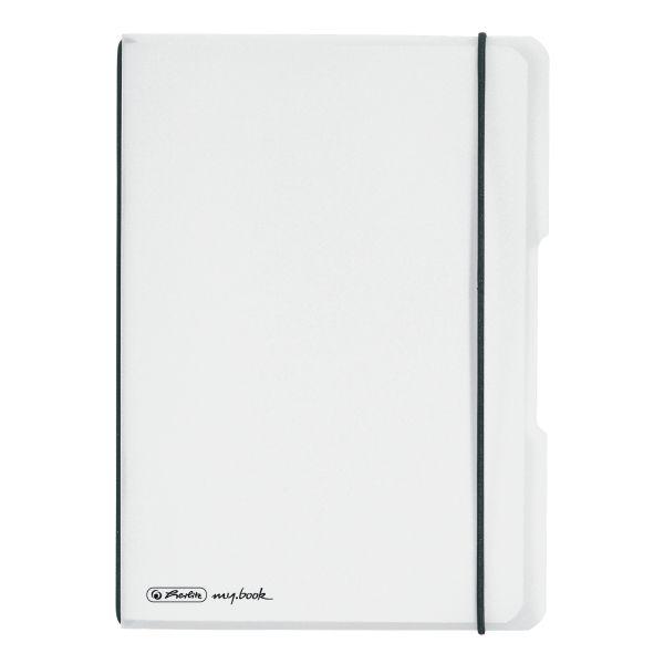 Zošit Flex A5/40 štvorček, transparentný biely