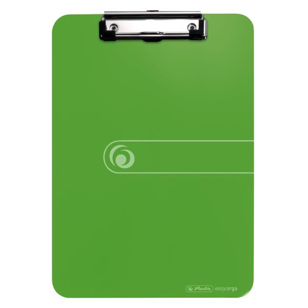 Podložka s klipom PS A4 zelená