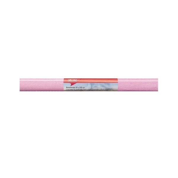 Papier krepový 50x250 ružový