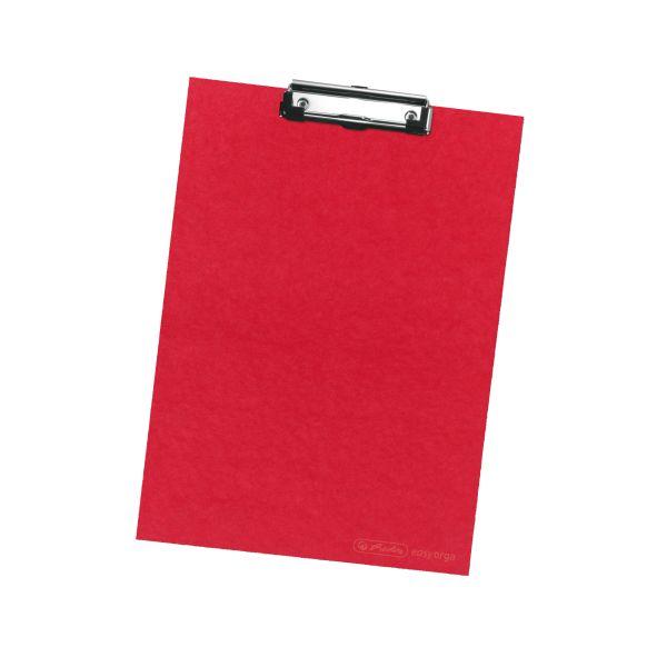 Podložka s klipom A4 červená