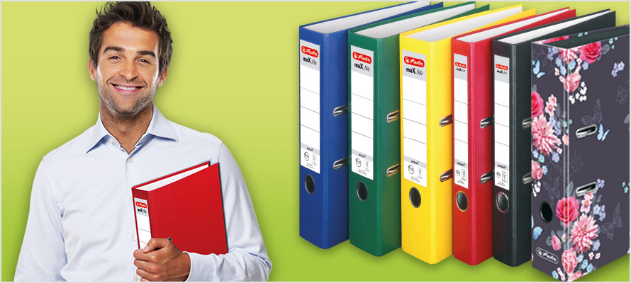 maX.file lever arch files & ring binders