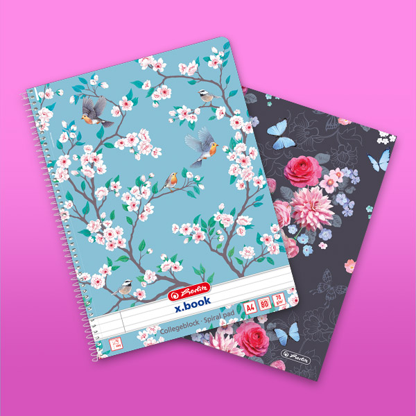 Spiral note pads
