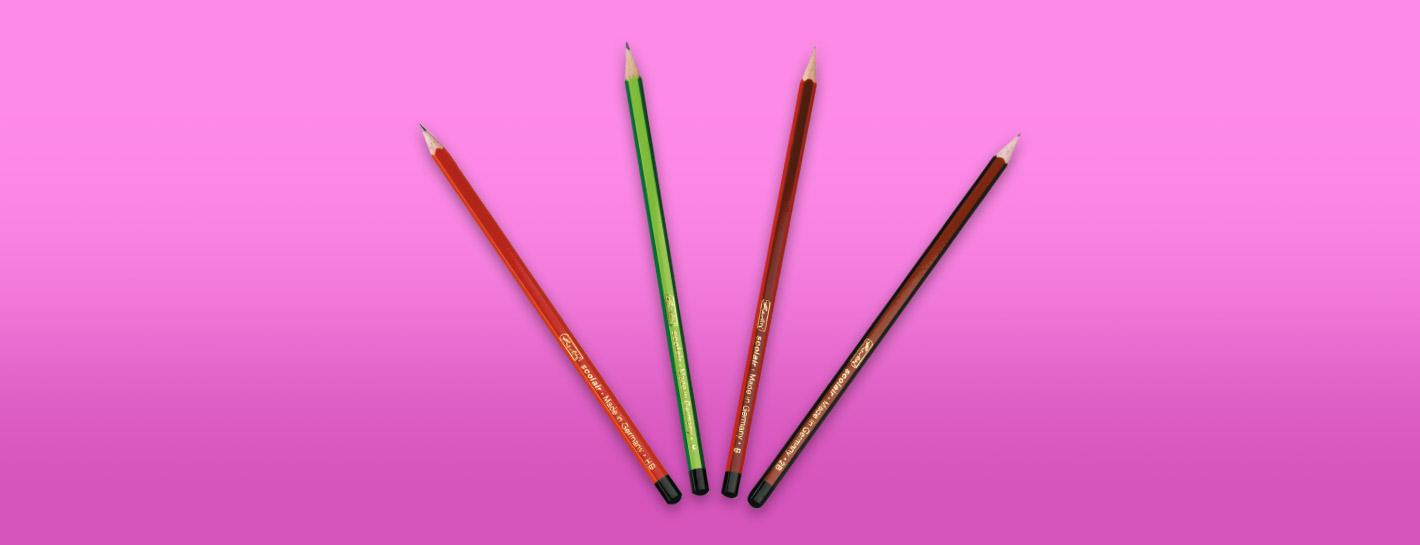 карандаши простые и механические